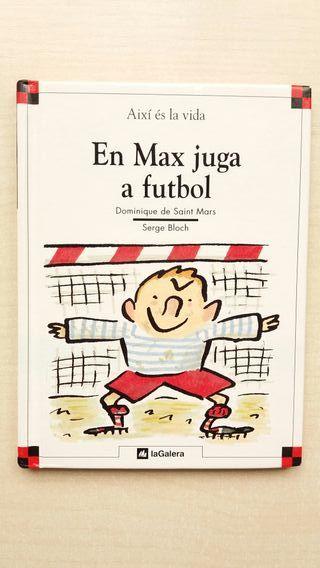 Libro En Max juga a futbol. Saint Mars
