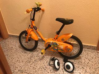 Bicicleta infantil niño niña 14