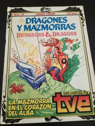 Cómic Dragones y Mazmorras