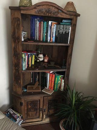 Mueble esquinero, librería