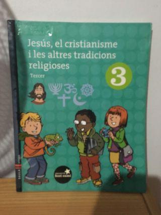 Libro Escolar Religión Tercero Primaria/ niños