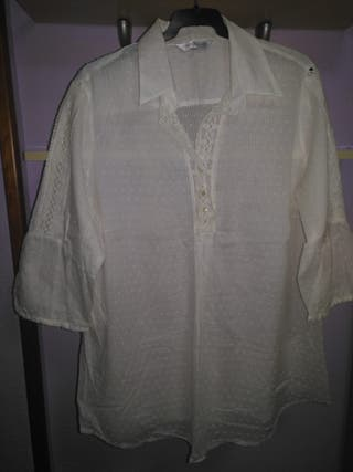 Camisa blanca talla 54
