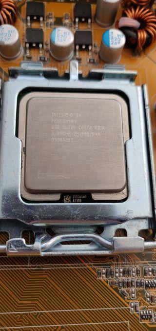 CPU PENTIUM 4 3.0 Ghz y Placa Base Asus