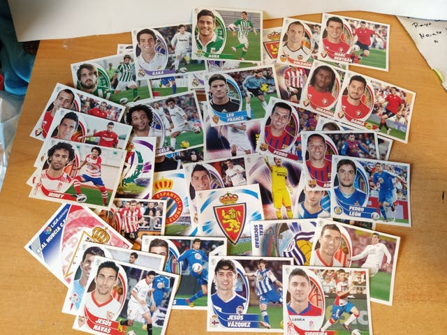 Cromos liga 2012-2013 Bbva