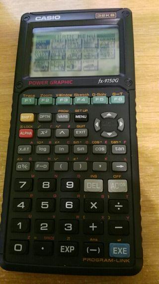 Calculadora científica. Casio