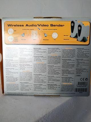 Emisor-receptor señal TV radiofrecuencia