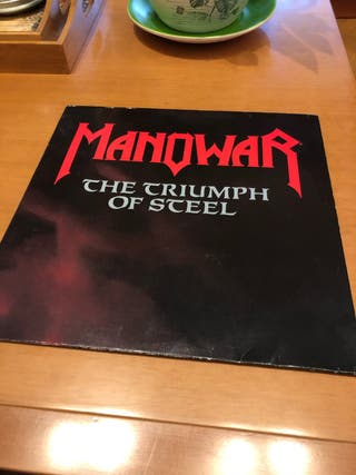 Manowar - The Triumph Of Steel 2Lps . Vinilo Lp