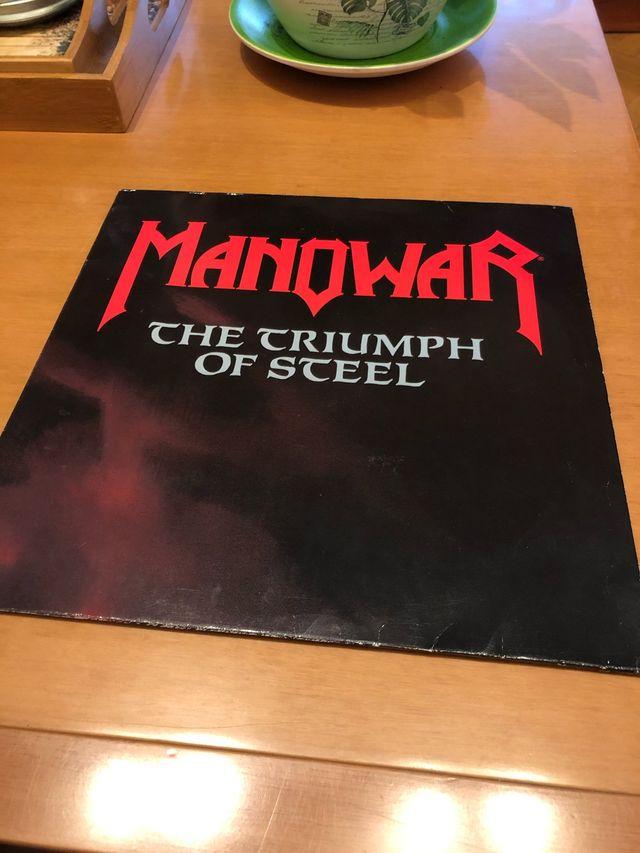 Manowar - The Triumph Of Steel 2Lps . Vinilo Lp