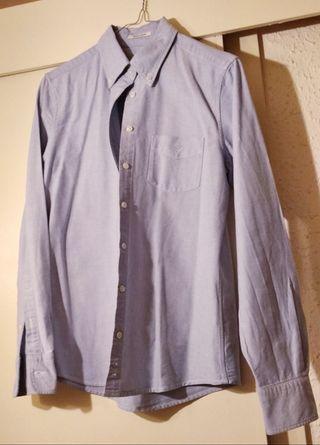 camisa GANT azul