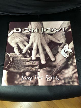Vinilo Bon Jovi - Keep The Faith Lp