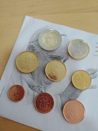 Monedas Vaticano 2019 SIN CIRCULAR