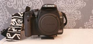 Canon EOS 450D con objetivos