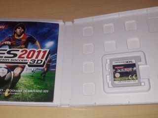 Juego completo PES 2011 3D, caja, manual... muy bu