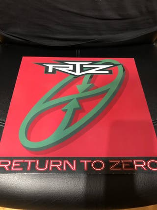 Vinilo Rtz - Return to Zero LP. AOR