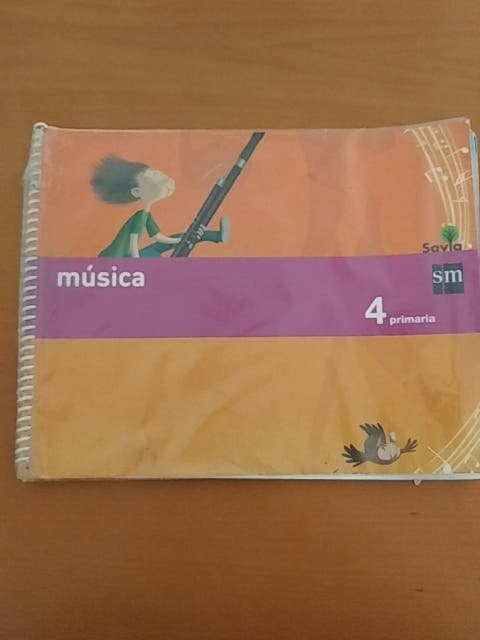Libro de 4 (cuarto) de Musica de SM