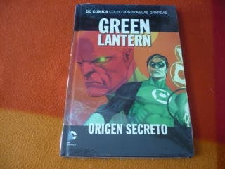 GREEN LANTERN ORIGEN SECRETO DC NOVELAS GRAFICAS 6