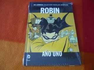 ROBIN AÑO UNO DC NOVELAS GRAFICAS 23 (CHUCK DIXON)