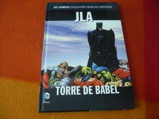 JLA TORRE DE BABEL DC NOVELAS GRAFICAS 4 ( WAID )