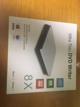 Lector de DVD Y CD para portatil (con USB)