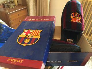 Zapatillas de estar en casa del F.C Barcelona