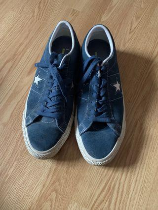 Zapatillas CONVERSE one star bajas azul marino