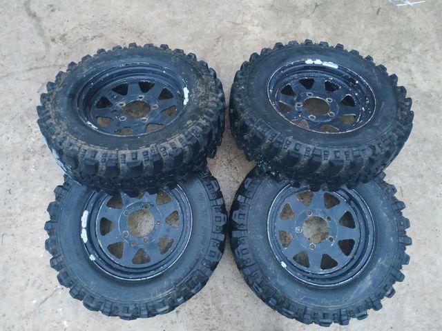 llantas y neumáticos 4x4 Suzuki vitara-samurai