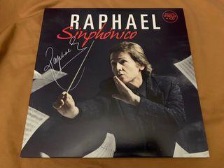 RAPHAEL SINPHONICO Disco vinilo LP firmado