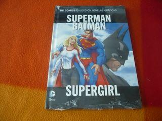 SUPERMAN BATMAN SUPERGIRL DC NOVELAS GRAFICAS 24