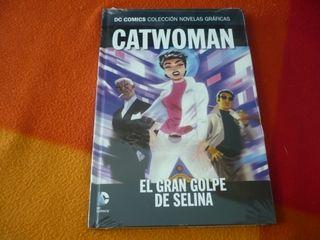 CATWOMAN EL GRAN GOLPE DE SELINA DC NOVELAS 32