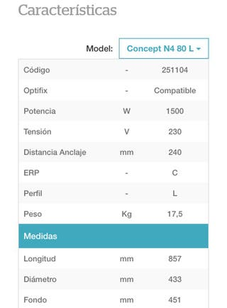 CALENTADOR ELÉCTRICO 80L