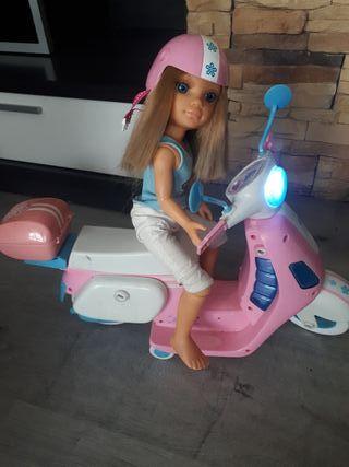 Moto nancy (regalo muñeca)