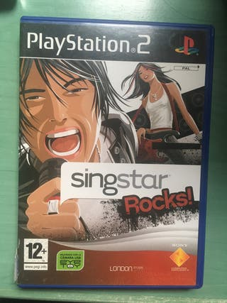 Juego singstar rocks para play station 2