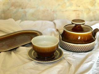 Set cerámica alemana. Scherzer. Bavaria.