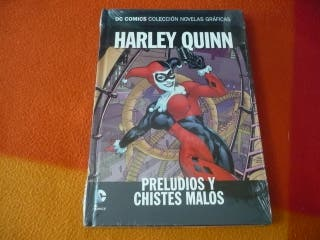 HARLEY QUINN PRELUDIOS Y CHISTES MALOS DC NOVELAS