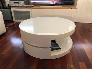 Mesa de centro redonda de diseño