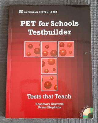 Libro Inglés Pet for Schools Testbuider