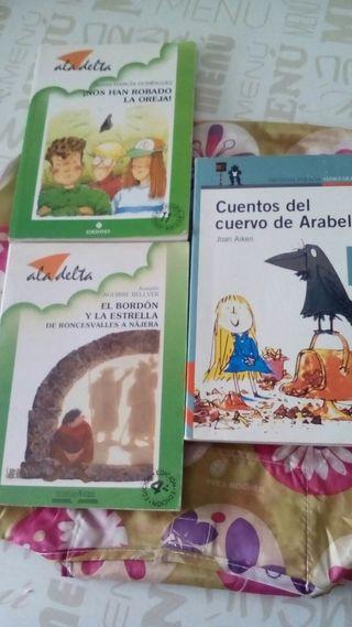LOTE DE LIBROS INFANTILES- JUVENILES