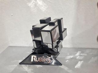 Cubo de Rubik de Espejo Irregular Creativo Plata