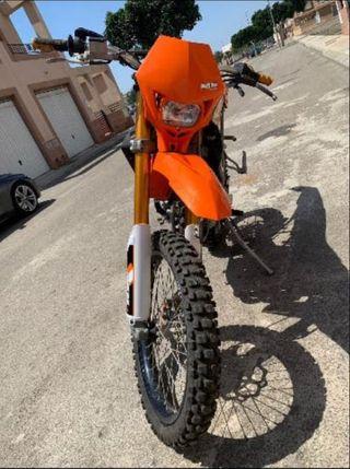 moto hispania 50cc proracing (motor am6)