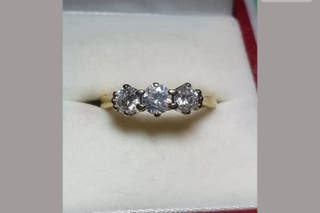 14ct Diamond Engagement Ring