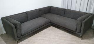Sofá de diseño italiano NEWMAN color antracita