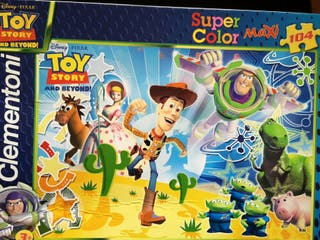Juego Puzzle Toy Story (maxi) . Disney Clementoni