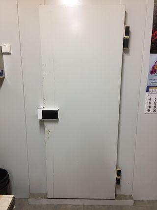Puerta de camara frigorífica vizuete