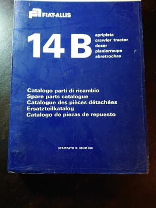 CATALOGO RECAMBIOS ORIGINAL TRACTOR FIAT ALLIS 14