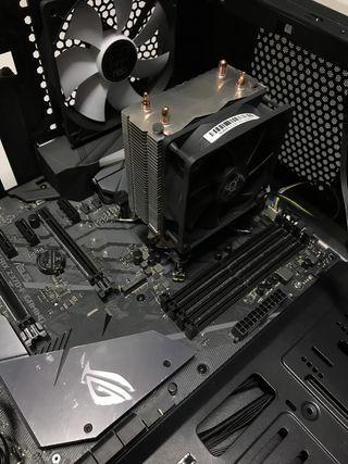 PC ROG STRIX Z370-F GAMING + i7 a 8700k NOX HUMMER