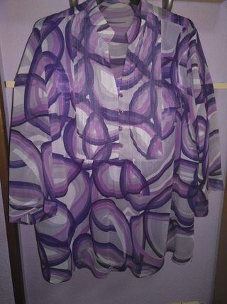 Camisa lila talla 54