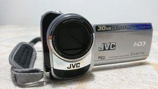 Camara video JVC GZ-MG330 con HD (DISCO DURO)