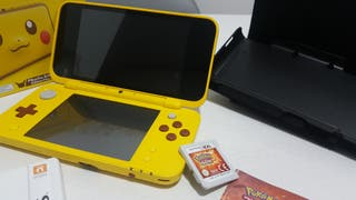 New Nintendo 2DS XL Edición Pikachu + Pokemon Sol