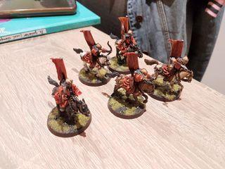 Señor de los Anillos Hobbit Warhammer Carro khand