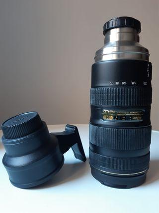 Termo objetivo Nikon 70-200